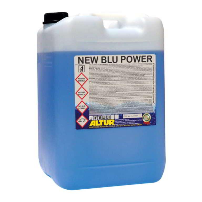New Blu Power detergente schiumogeno