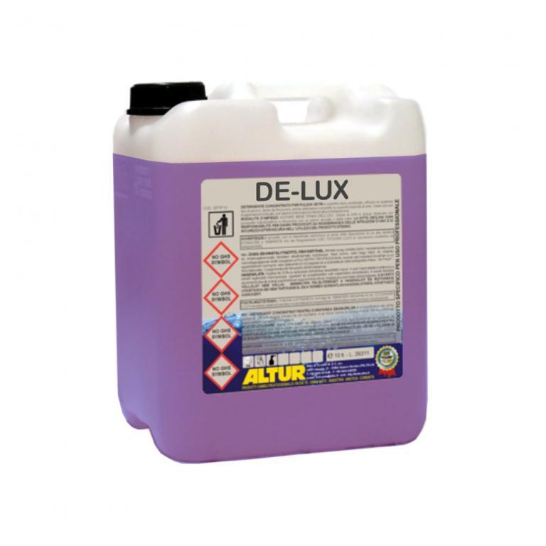 delux detergente pulivetro pronto uso