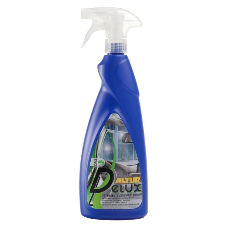 Delux detergente pulivetro per vetri e cristalli