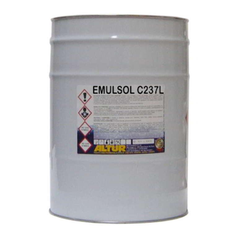Emulsol c237l solvente sgrassante emulsionabile a basso odore per sgrassaggio parti meccaniche bonifica serbatoio petrolifero rimozione bitume