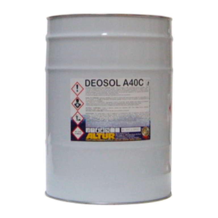 Deosol A40C solvente sgrassante agli agrumi per lavaggio parti meccaniche motori e minuteria