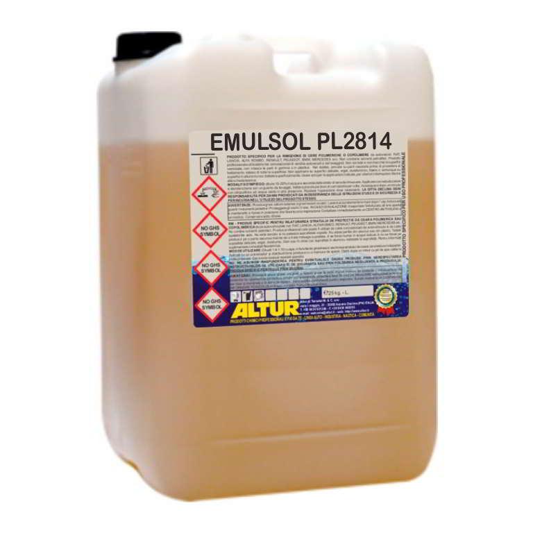 Emulsol PL2814 Microemulsione a rapida azione detergente esgrassante per parti meccaniche bonifica serbatoi petroliferi rimozione bitume