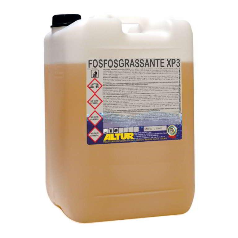 Fosfosgrassante xp3 fosfatante sgrassante mer metalli sgrassante e passivante prima della verniciatura