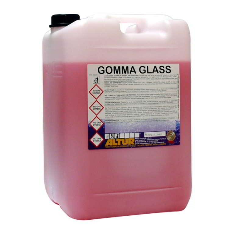 Gomma Glass lucido per gomme profumato