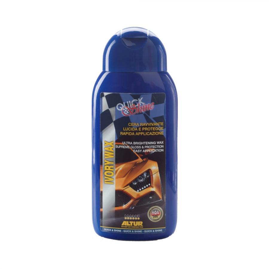 Ivory Wax cera di carnauba rapida lucida e protegge