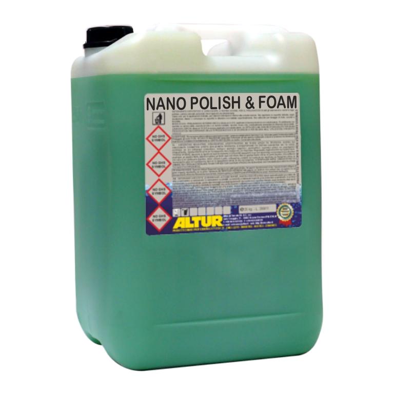 Nano Polish & Foam polish schiumogeno lucidante