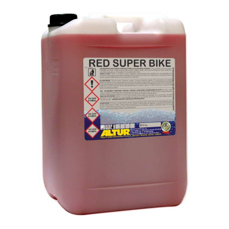 Red Super Bike detergente pulizia moto