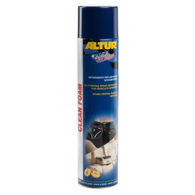 Clean Foam schiuma secca per pulizia interni auto