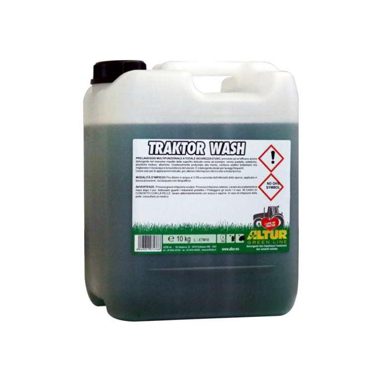 Traktor Wash detergente sicuro per pulizia trattore