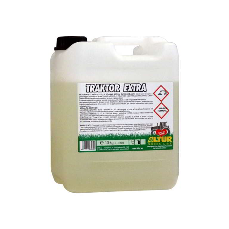 Traktor Extra detergente forte per lavaggio trattore