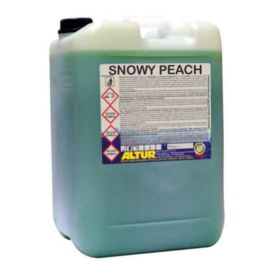 Snowy Peach & Snowy Breeze