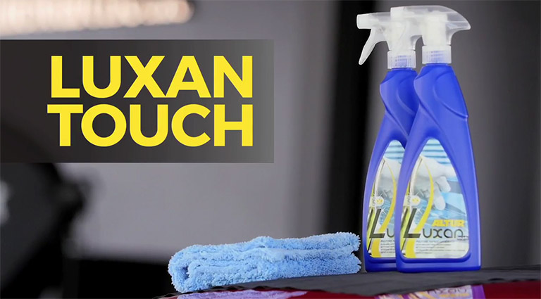 Quick Detailing with Luxan Touch