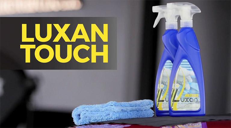 Luxan Touch: pulire e lucidare senz'acqua
