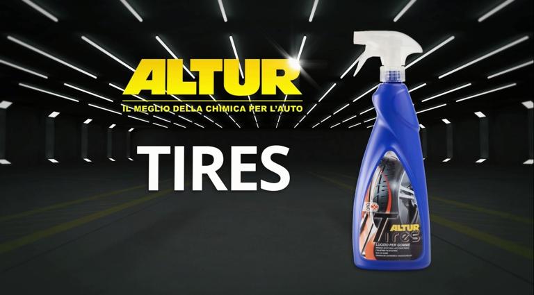 Comment avoir des pneus lustrés avec Tires